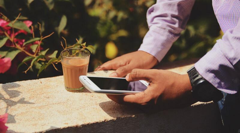 Investering med mobilen