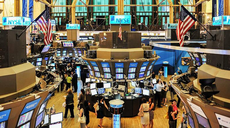 Køb og salg af aktier på New Yorks børs