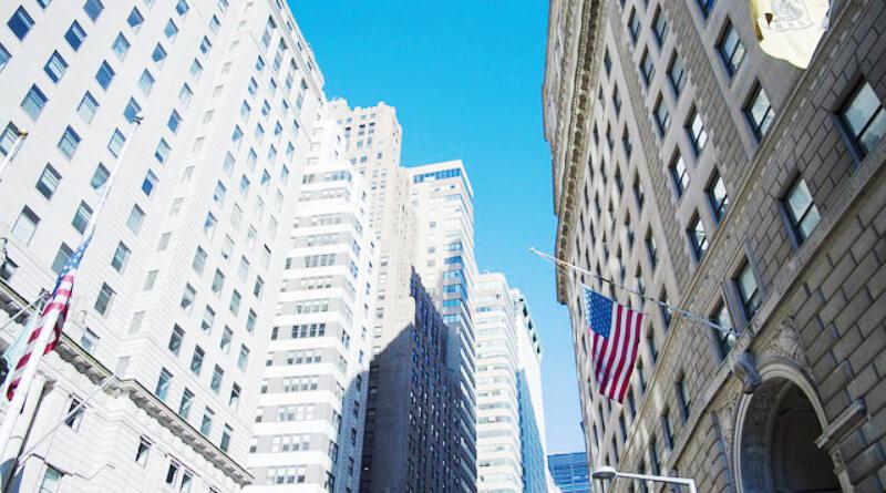 Hvordan køber man aktier? Wall Street i New York