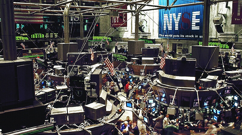 investering i aktier. New York Stock Exchange NYSE